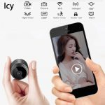 Icy Mini Wireless Camera  WiFi HD 1080P Home Security Night Vision Wireless Surveillance Camera Remote Monitor Phone Camera