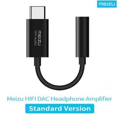 MEIZU HiFi Audio DAC 3.5mm Phone Type-C  Adapter Cable Headphone amplifier CS43131 Chip PCM 32bit