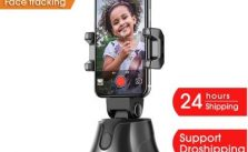 Apai Genie Automatic Smart Shooting Selfie Stick 360° Object Tracking Bracket Rotating Full Face Tracking Camera Mobile Phone Stand