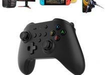GuliKit King Kong Bluetooth Controller Wireless Gamepad Joysticks with Autopilot Gaming Motion Sense for Nintendo Switch / Lite PC Android Steam NS08 2