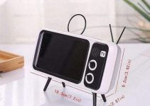Retro TV Bluetooth Speaker Mobile Phone Holder 5
