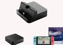 GuliKit Switch Dock Pocket Portable Base Station 4K HDMI Video Convertor NS05 for Nintendo Switch and Cellphone 5