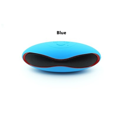 Leehur Mini Portable Bluetooth Speaker Olive Curved Design Wireless Bluetooth Speaker HIFI Bass Stereo Music Loudspeaker Support TF Card