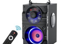 EIFER  Wireless Portable Bluetooth Speaker With Remote Control For Home Party Phone Computer PC 2