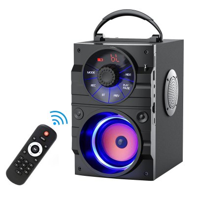 EIFER  Wireless Portable Bluetooth Speaker With Remote Control For Home Party Phone Computer PC