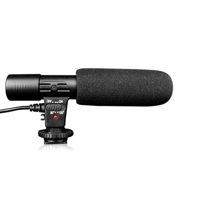 Leehur Professional Camera Recording Microphone Condenser Microphone 3.5MM Wired microfono for Interview video