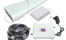 4G FDD LTE 3G W-CDMA Mobile Phone Signal Booster 2600MHz 2100MHz Signal Repeater