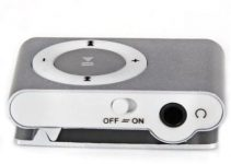 Pocket  MP3  Player 3.5mm Audio Jack with Back Clip and Micro SD Card Slot 4