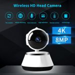 ICY Security Camera HD  Wireless IP Camera Intelligent Auto Tracking Of Home Security Wifi Camera – 720P