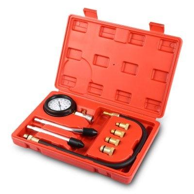 Engine Cylinder Compression Gauge Diagnostic Tester 0 - 300 psi Pressure Range for Motorcycles Cars