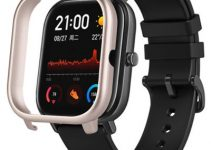 TAMISTER Smart Watch Frame Ultralight Protective Shell Cover for Amazfit GTS 6
