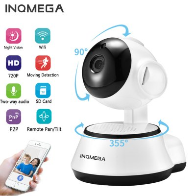 INQMEGA IP Camera Wireless 720P Home Security Surveillance CCTV Network Camera  ICSEE