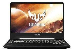 "ASUS TUF Gaming Laptop, 15.6"" 144Hz Full HD IPS-Type Display, Intel Core i7-9750H Processor, GeForce GTX 1650, 8GB DDR4, 512GB PCIe SSD, Gigabit Wi-Fi 5, Windows 10 Home, FX505GT-AB73 1"