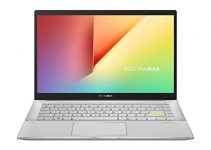"ASUS VivoBook S14 S433 Thin and Light Laptop, 14"" FHD Display, Intel Core i5-1135G7 CPU, 8GB DDR4 RAM, 512GB PCIe SSD, Thunderbolt 3, Wi-Fi 6, Windows 10 Home, Dreamy White, S433EA-DH51-WH 3"