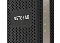 NETGEAR Cable Modem CM1000 - Compatible with All Cable Providers Including Xfinity by Comcast, Spectrum, Cox | For Cable Plans Up to 1 Gigabit | DOCSIS 3.1, Black (CM1000-1AZNAS) 5