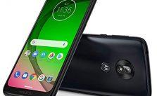 Motorola Moto G7 Play (32GB, 3GB RAM) 5.7″ HD+ Max Vision, Global 4G LTE GSM + CDMA T-Mobile Unlocked (Verizon, AT&T, Metro, Straight Talk) XT1952-4 (Black, 64GB SD Bundle)