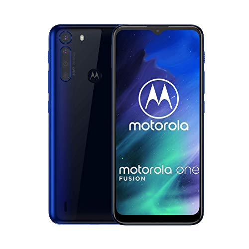 Motorola One Fusion | Unlocked | GSM only | 4/128GB | 48MP | 2020 | Deep Sapphire