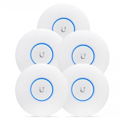Ubiquiti Networks 2,4/5Ghz 450/1300Mbps 122m 5Pk Indoor/Outdoor, UAP-AC-PRO_5 (Indoor/Outdoor 196.7 x 35 mm)