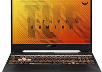 "ASUS TUF Gaming A15 Gaming Laptop- 15.6"" 144Hz Full HD IPS-Type, AMD Ryzen 5 4600H, GeForce GTX 1650, 8GB DDR4, 512GB PCIe SSD, Gigabit Wi-Fi 5, Windows 10 Home- FA506IH-AS53 4"