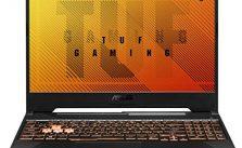 "ASUS TUF Gaming A15 Gaming Laptop- 15.6"" 144Hz Full HD IPS-Type, AMD Ryzen 5 4600H, GeForce GTX 1650, 8GB DDR4, 512GB PCIe SSD, Gigabit Wi-Fi 5, Windows 10 Home- FA506IH-AS53"
