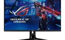 "ASUS ROG Swift PG329Q 32"" Gaming Monitor, 1440P WQHD (2560×1440), Fast IPS, 175Hz (Supports 144Hz), 1ms, G-SYNC Compatible, Extreme Low Motion Blur Sync, Eye Care, HDMI DisplayPort USB, DisplayHDR 600"