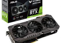 ASUS TUF Gaming NVIDIA GeForce RTX 3070 OC Edition Graphics Card (PCIe 4.0, 8GB GDDR6, HDMI 2.1 , DisplayPort 1.4a, Dual Ball Fan Bearings, Military-Grade Certification, GPU Tweak II) 2