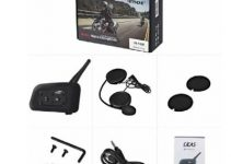 V6 Multi BT Interphone 1200M Motorcycle Bluetooth Helmet Intercom 6