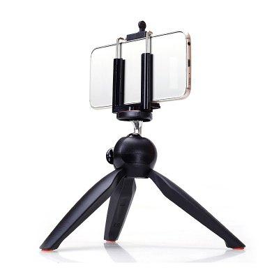 Universal Mini Desktop Phone Tripod Camera Stand   Clip for Phone Monopod Selfie Stick