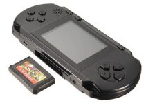 3-Inch Slim PXP3 16-bit Portable Portable Game Console 2 Built-In 150 Game Cards 4