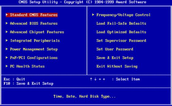 BIOS POST beep codes