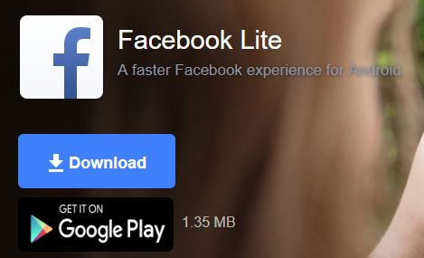 download facebook lite