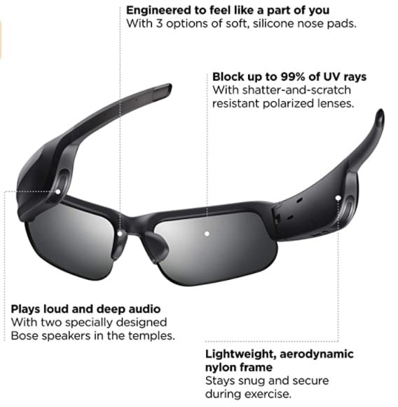 bose sunglasses with speakers