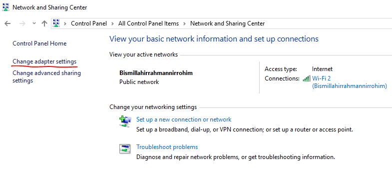 How to Change IP Address On My Computer 4