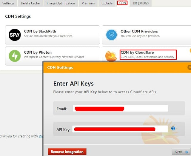 Speed Up Wordpress Using Cloudflare and WP Fastest Cache Plugin 12